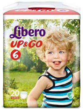 LIBERO UP&GO PANN 6 20PZ