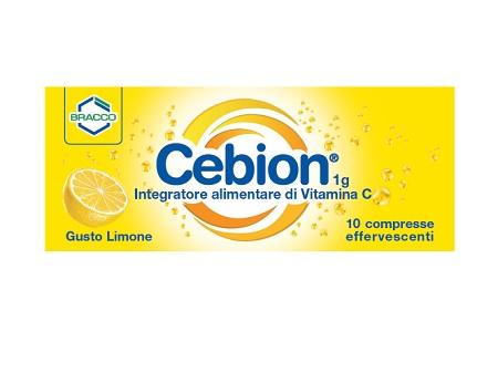 CEBION EFF VIT C LIMONE 10CPR