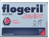 FLOGERIL JUNIOR FRAGOLA 20BUST