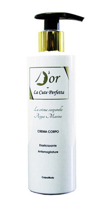 D'OR AIGUE MARINE CREMA CORPO
