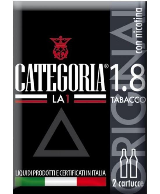 CATEGORIA LA1 3CART OR TAB 18
